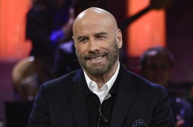 John Travolta, Bald, Smiling, Sanremo Young, 2019