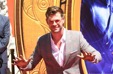 Chris Hemsworth, Avengers: Endgame, TCL Chinese Theatre, Handprint Ceremony, 2019