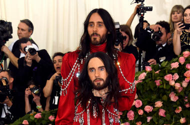 Jared Leto, Red Carpet, Met Gala, Severed Head, 2019
