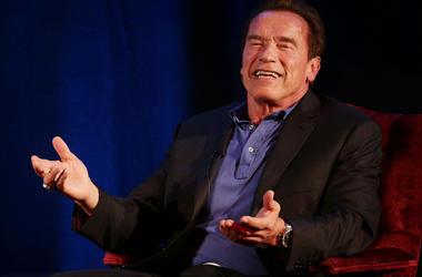 Arnold Schwarzenegger, arnold, andreas, andreas gabalier, pump it up, rap
