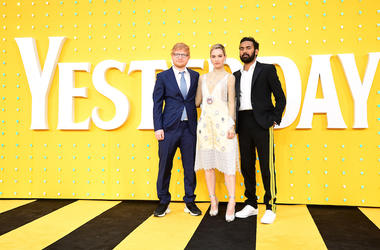 yesterday, himesh patel, ed sheeran, lily james, movie, the beatles, gwar