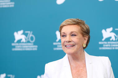 Julie Andrews, Red Carpet, Venice Film Festival, 2019