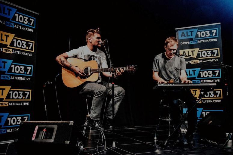 Cold War Kids Perform At The ALT 1037 Performance Showroom