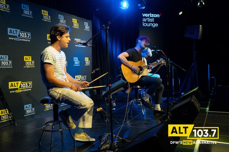 DREAMERS at Verizon Artist Lounge At ALT 103.7 Studios