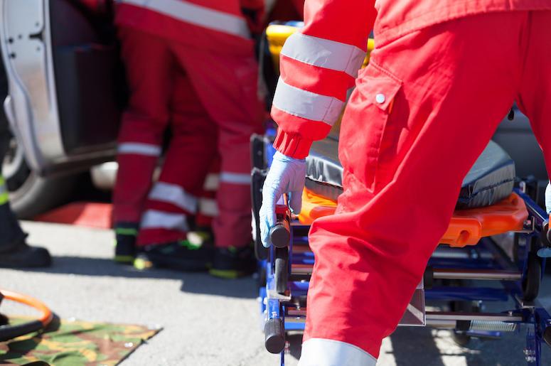 Paramedics, Rescue Operation, Traffic Accident, Car Crash