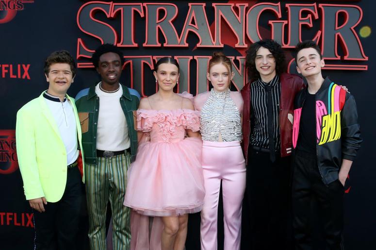 Cast of Stranger Things