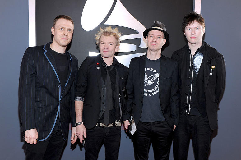 Sum 41 at The Grammys