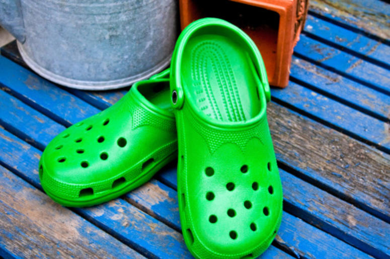69c709cbd Goth Crocs Exist And Are Available For Purchase
