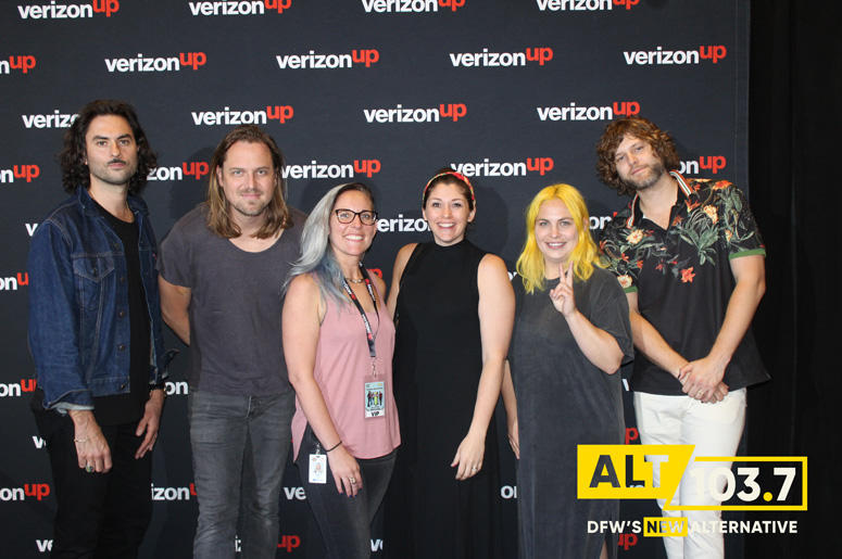 The Head And The Heart Meet And Greet At The Verizon Artist Lounge At ALT 103.7 Studios