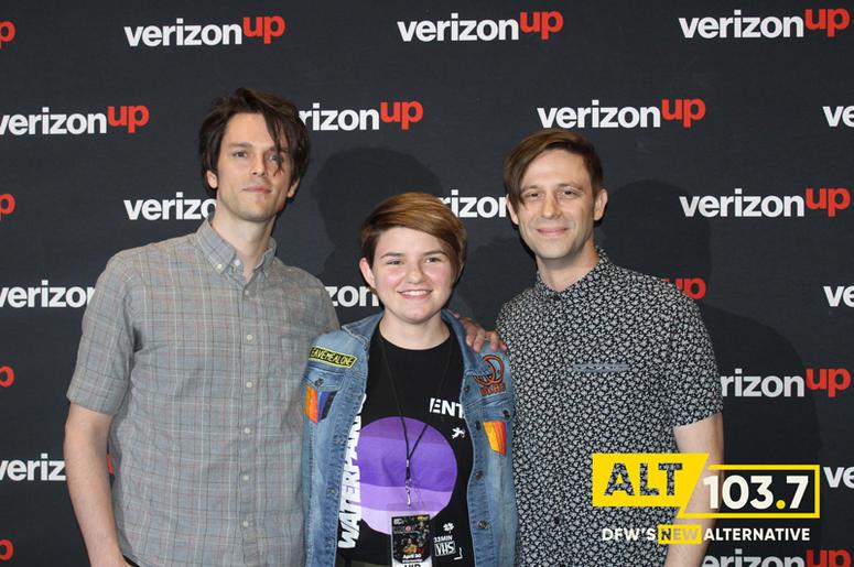iDKHow But They Found Me Meet & Greet At Verizon Artist Lounge At ALT 103.7 Studios
