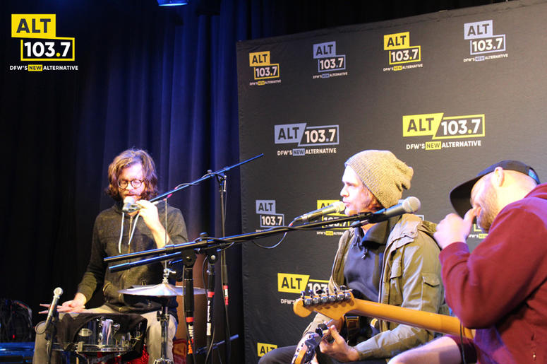KONGOS Live In The Verizon Artist Lounge
