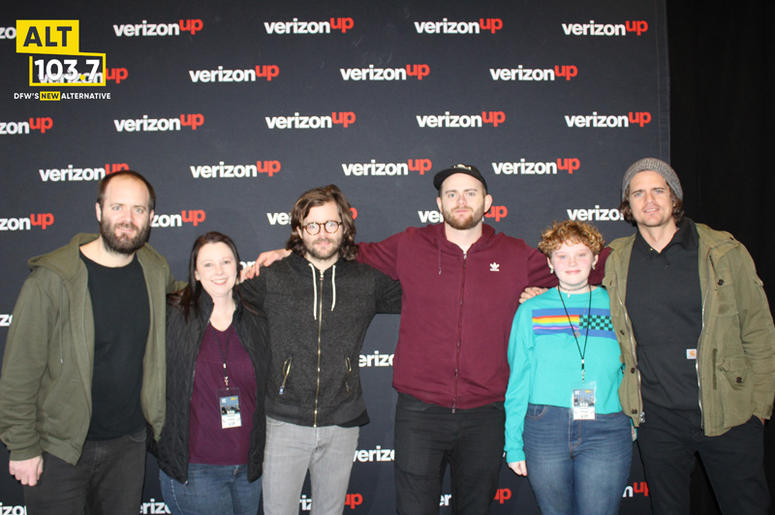 KONGOS Meet & Greet in The Verizon Artist Lounge