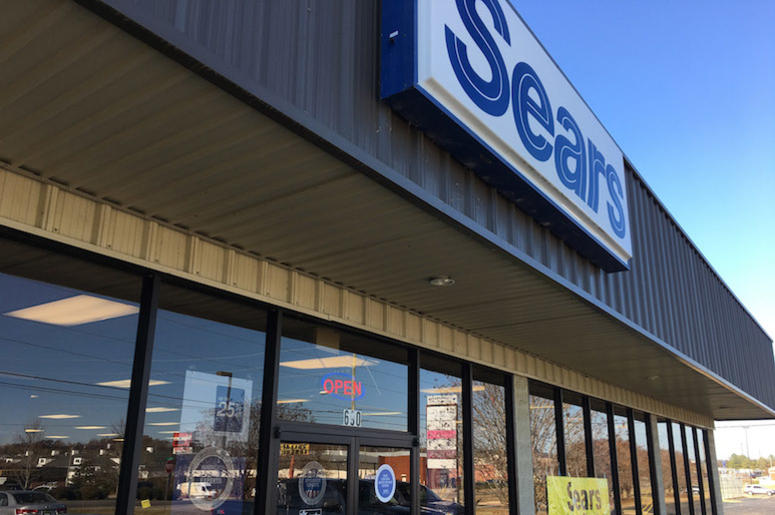 Sears, Storefront, Store Closing