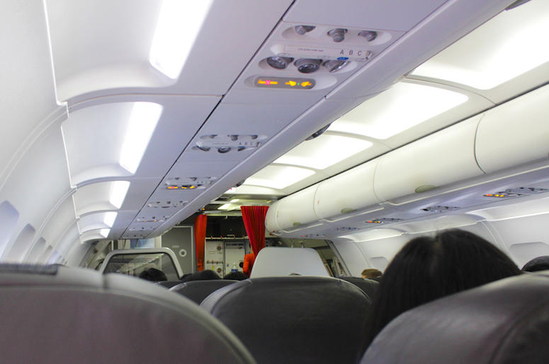 Airplane, Interior, Vent, Air Conditioning