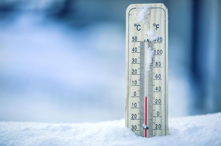 Winter, Thermometer, Temperature
