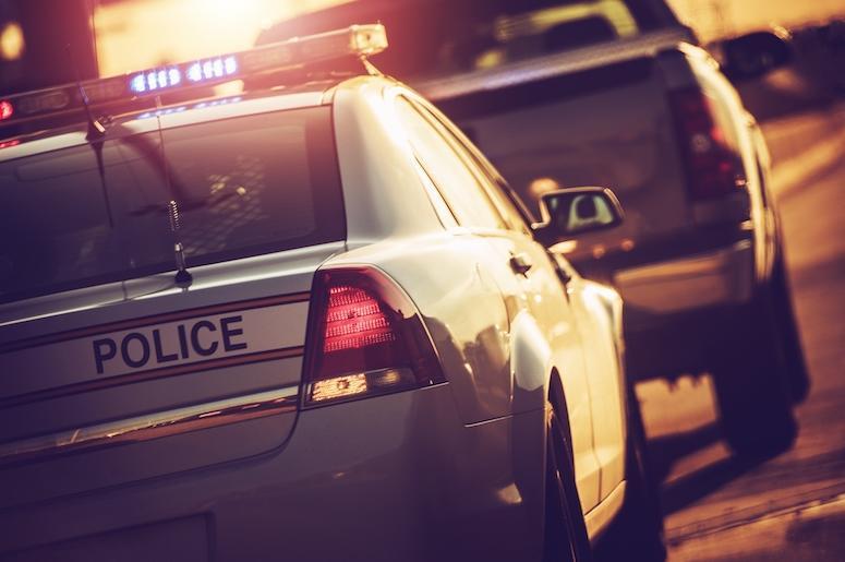 Police, Stop, Sirens, Cruiser