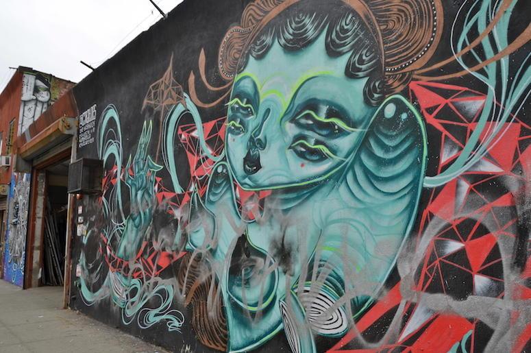 Mural, Street, Building, Painting