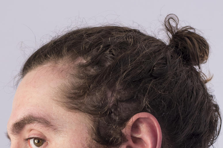 Man Bun, Hair