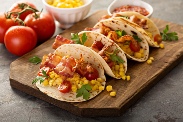 Bacon On Tacos