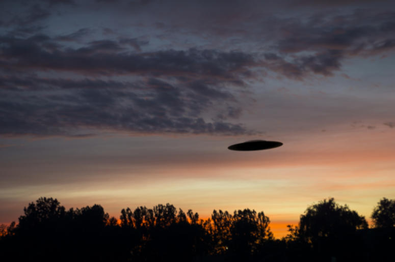 UFO Hovering