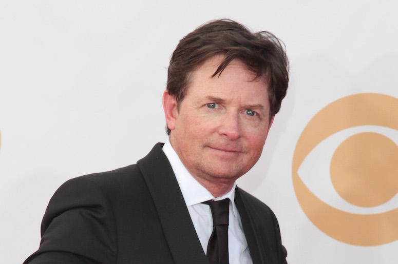Michael J. Fox, Red Carpet, 65th Emmy Awards, Pose, 2013