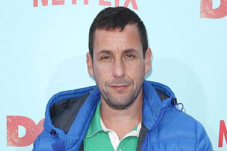 Adam Sandler, Ski Jacket, Red Carpet