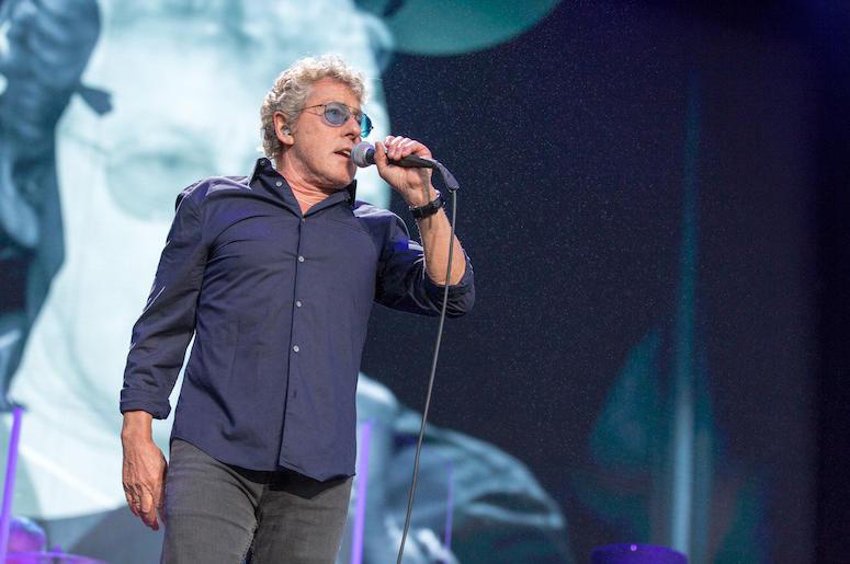Roger Daltrey, The Who, Singing, Concert,  Outside Lands Music Festival, 2017