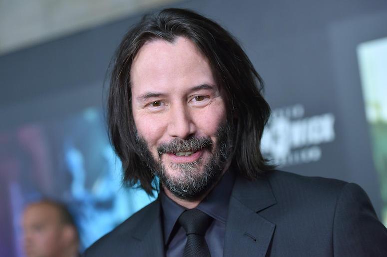 Keanu Reeves, John Wick: Chapter 3 - Parabellum, Premiere, Red Carpet, 2019