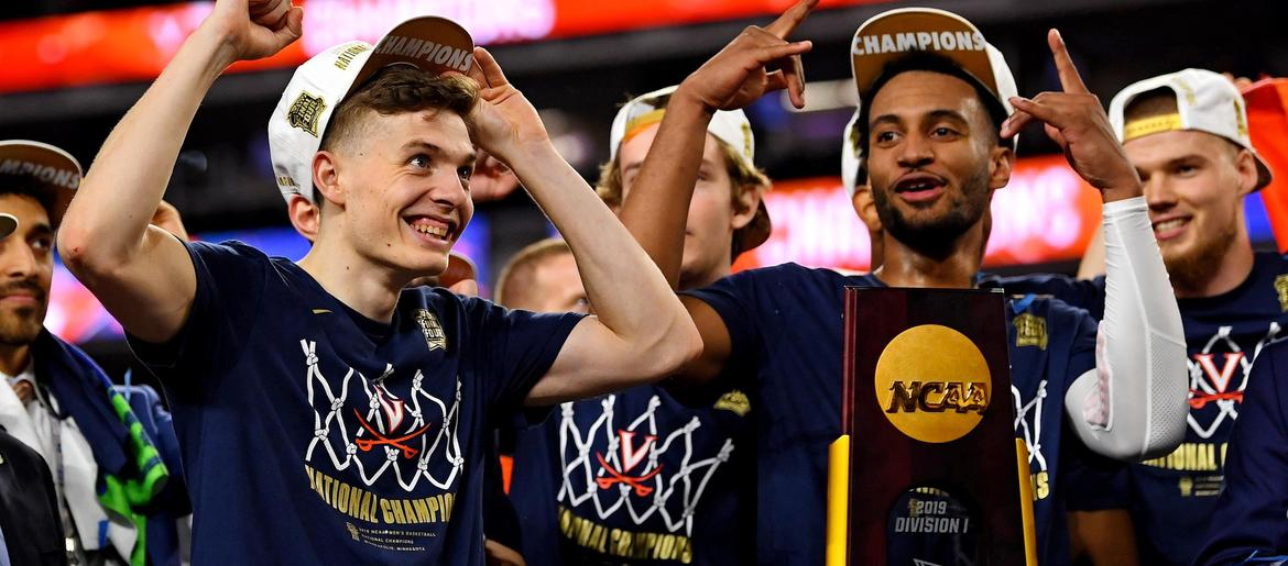 low priced b25f2 574fb NCAA Latest  Virginia s clutch tourney goes down in history   97.3 The Fan