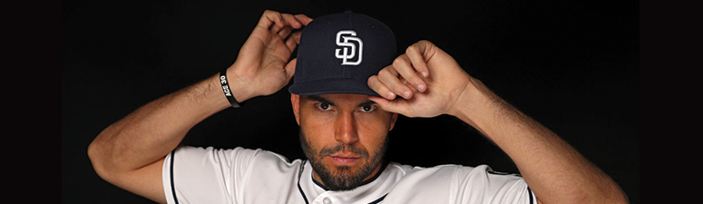 FEBRUARY 21: Eric Hosmer #30 of the San Diego Padres poses on photo day during MLB Spring Training at Peoria Sports Complex on February 21, 2018 in Peoria, Arizona. (Photo by Patrick Smith/Getty Images)
