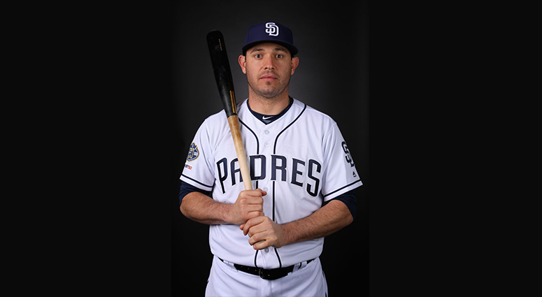 FEBRUARY 21: Ian Kinsler #3 of the San Diego Padres poses for a portrait during photo day at Peoria Stadium on February 21, 2019 in Peoria, Arizona. (Photo by Christian Petersen/Getty Images)