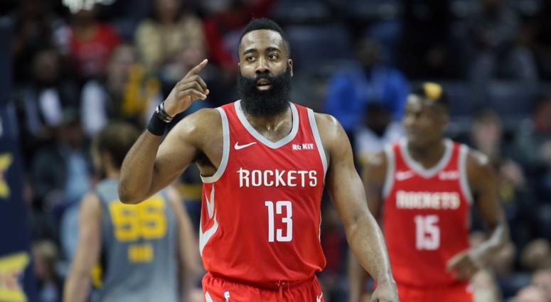 5423a647d8bb Harden scores 57 but Grizzlies top Rockets 126-125 in OT
