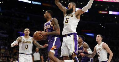Phoenix Suns' Trevor Ariza