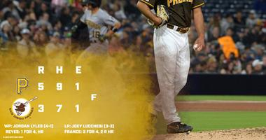 Padres Pirates 5.17