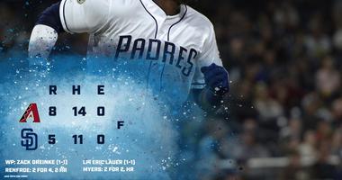 Padres D-backs 4.2 recap