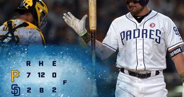 Padres Pirates 5.18
