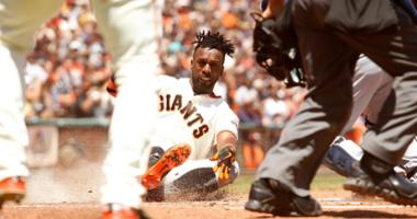 Andrew McCutchen of the San Francisco Giants