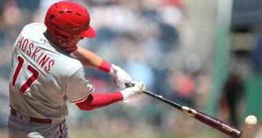 Rhys Hoskins of the Phillies