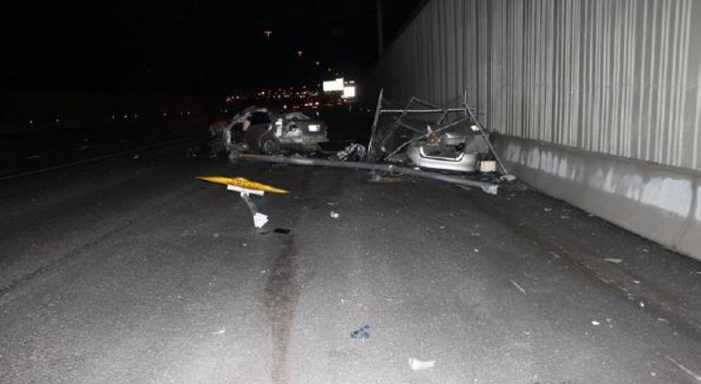 Man Dies In Single Car Crash On U S  95 And Decatur | KXNT