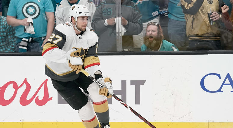 Golden Knights D Shea Theodore Reveals Cancer Diagnosis