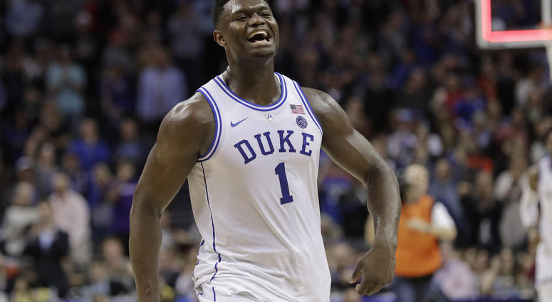 9d2abaac2981 Glass Sneaker  Stopping Zion The Key To March Madness