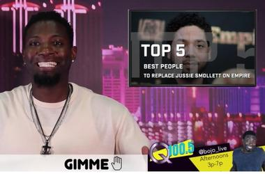 Gimme 5 Top 5 Replacements for Jussie Smollett on Empire