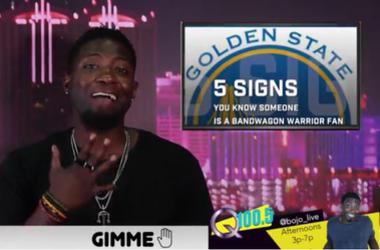 Gimme 5: Warriors Fans