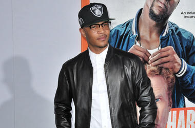 "Tip ""T.I."" Harris arrives at the ""Get Hard"" Los Angeles Premiere held at the TCL Chinese Theatre in Hollywood, CA on Wednesday, March 25, 2015."