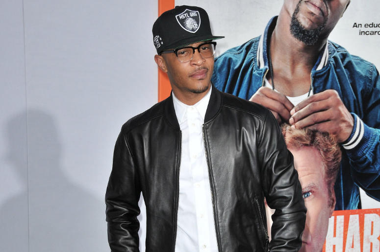 """Tip """"T.I."""" Harris arrives at the """"Get Hard"""" Los Angeles Premiere held at the TCL Chinese Theatre in Hollywood, CA on Wednesday, March 25, 2015."""