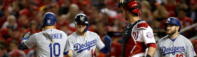 7-Run 6th Lifts LA Past Nats 10-4 for 2-1 NLDS Lead