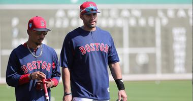 Mookie Betts and J.D. Martinez