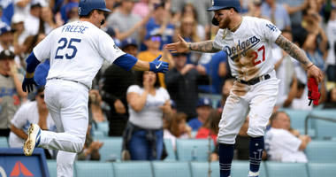 Hill, Dodgers, Beat Phillies 8-0 To Complete 3- Game Sweep