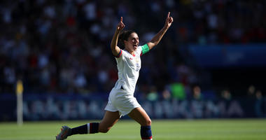 Lloyd, A World Cup Starter Again, Scores 2 As US Beats Chile