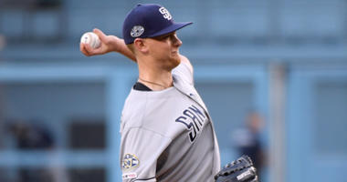 Lauer Continues Mastery Of Dodgers In 5-2 Win